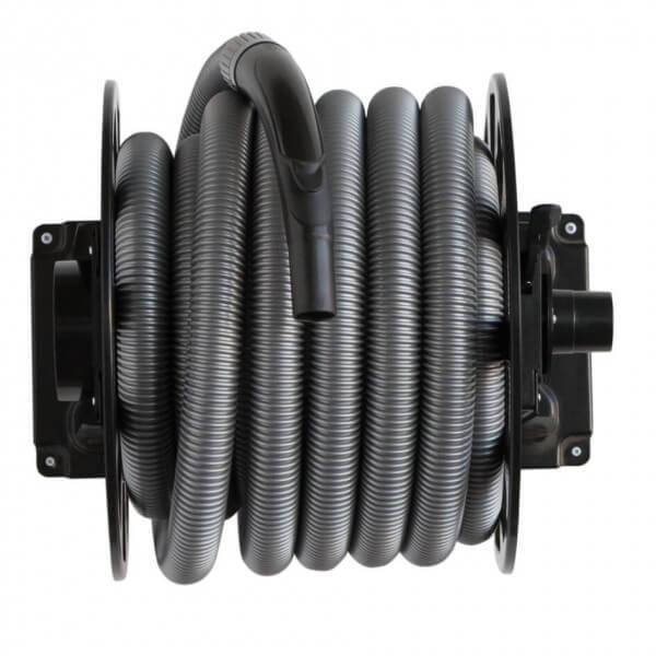 automatischer schlauchaufroller inkl schlauch 11m zentralstaubsauger. Black Bedroom Furniture Sets. Home Design Ideas